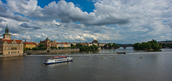 Two-hour cruise on the Vltava river